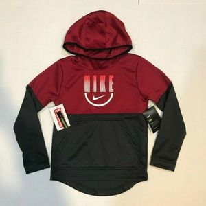 BOY'S NIKE THERMA-FIT PULLOVER HOODIE NEW